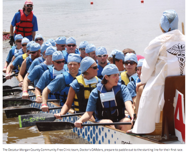 Medical Dealer Magazine | Pay it Forward | Dragon Boat Races
