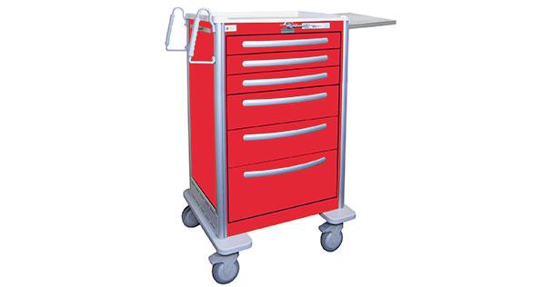 Medical Dealer Magazine | Product Showroom | Medline Aluminum Carts