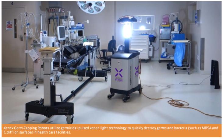SUCCESS STORY: XENEX GERM- ZAPPING ROBOTS