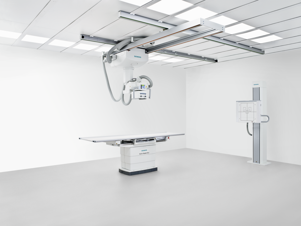 Since the Multix Fusion Max is a member of the Max family of Siemens Healthineers radiography systems, users can efficiently swap its X-ray detectors with all other Max systems.
