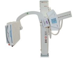 Tube-stand on swivel-arm for multipurpose digital radiography