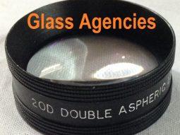 Aspheric lens 20 D