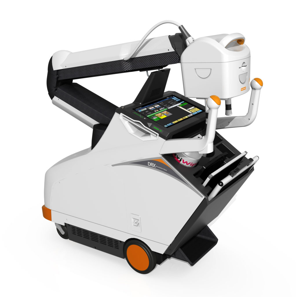Carestream Showing New Mobile X-ray System with Carbon ...