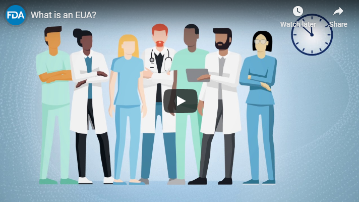FDA Shares EUA Video, Updates